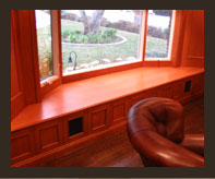 Custom Window Seat & Edging