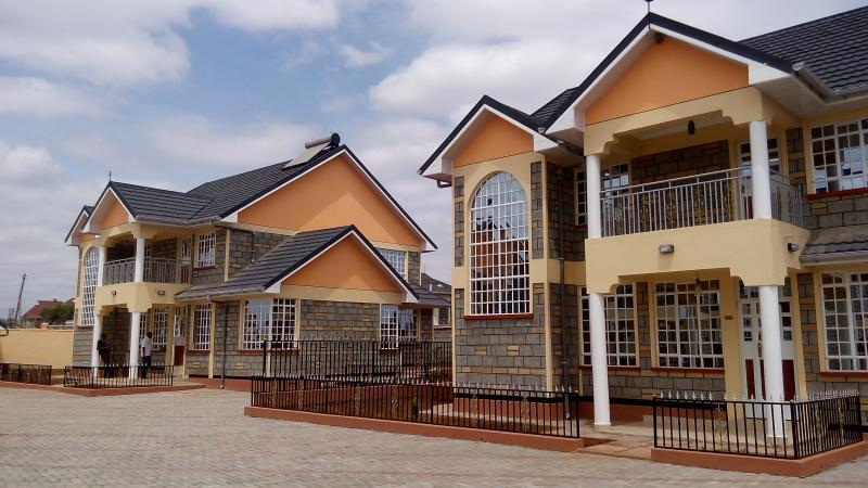 4 bedroom maisonette for sale in kitengela sarah villas for 4 bedroom maisonette house plans kenya