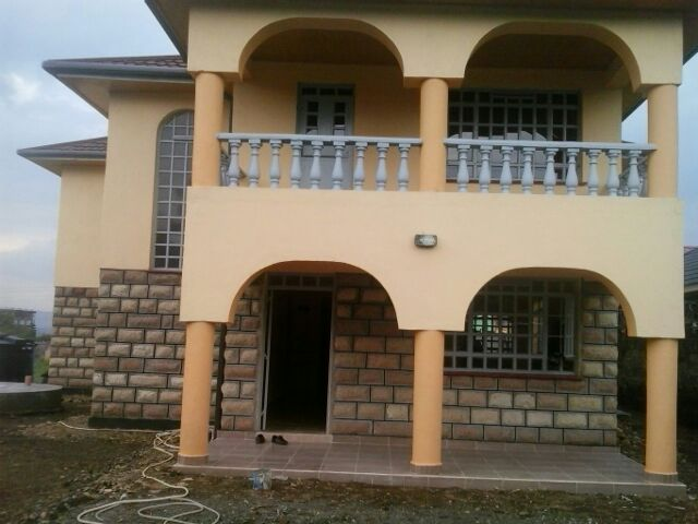 4 bedroom maisonette for sale in kitengela epz for Four bedroom maisonette plans